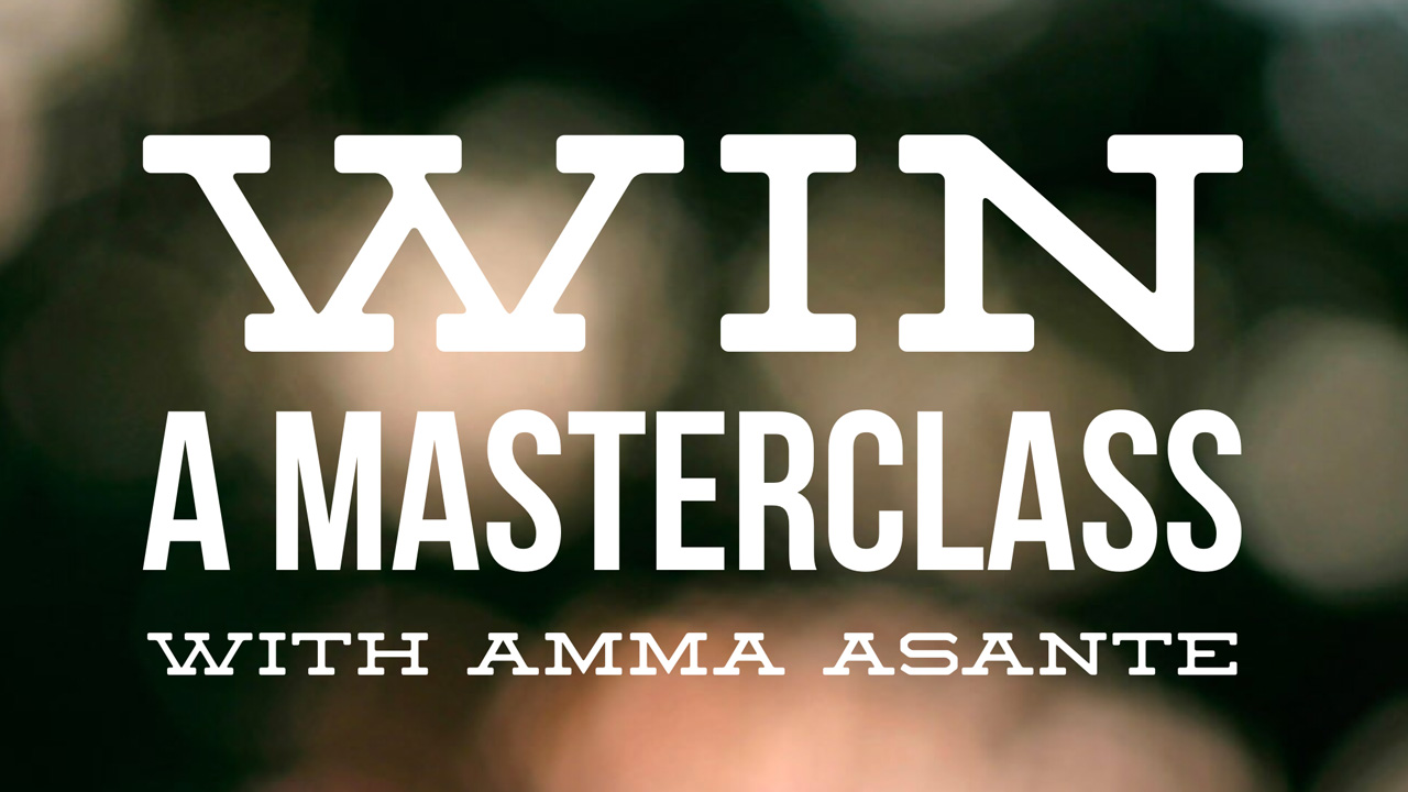 win a masterclass with Amma Asante